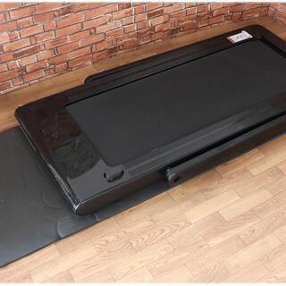 Lysin 家庭用ランニングマシン ウォーキングマシン LS-T4000 専用マット付き 付属品あり 耐荷重:100kg - コスメ/ヘルスケア