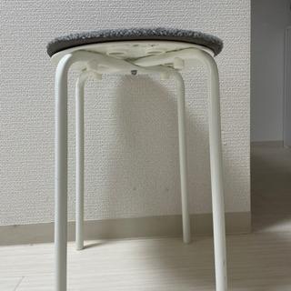 【差し上げます】IKEA丸椅子