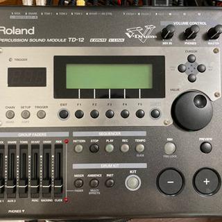 【ネット決済・配送可】Roland TD-12 電子ドラム モジュール