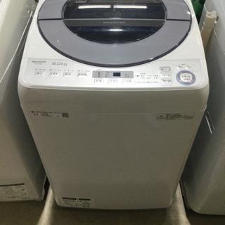 洗濯機 SHARP 8.0kg 2018年製 ES-GV8Cの画像