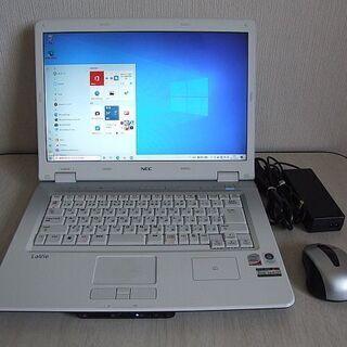 高速SSD120GB搭載 NEC LL750/M ノートパソコン...