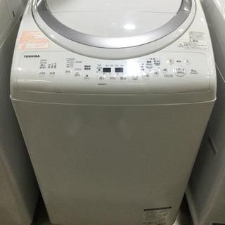 洗濯機 TOSHIBA 8.0/4.5kg 2017年製 …