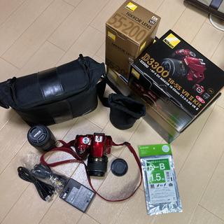 【ネット決済】デジタルカメラ Nikon D3300 ダブル...