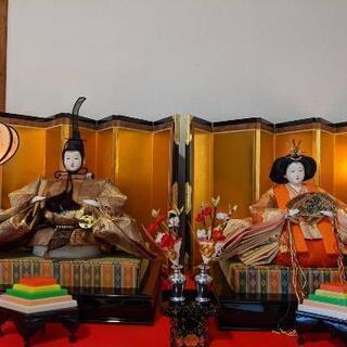雛人形 平安京翁の御所雛 五人揃(スチール三段毛せん) - 宗像市