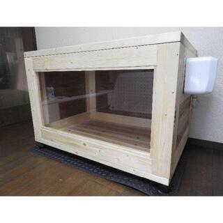 【ネット決済】ハンドメイド防音ケージ 手作り防音犬小屋
