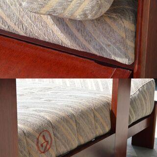 激安 先着順♪ 変形 3人掛 ソファー 木製枠 W2100×D750×H560mm − 愛知県