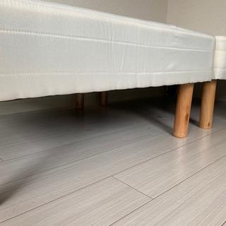 マットレス付きシングルベッド(分割タイプ) − 京都府