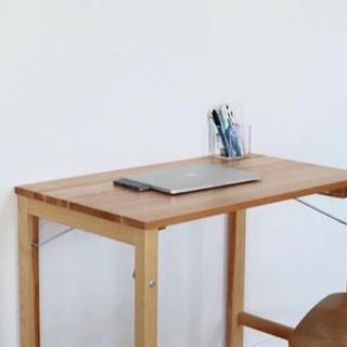 無印良品 折り畳みデスク 椅子