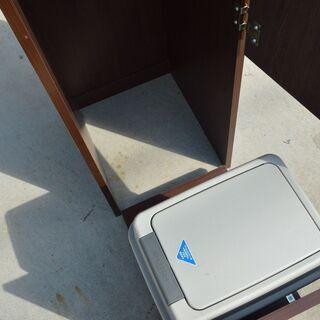 激安 先着順♪ キッチン分別 タワーダストボックス 収納棚 5分別 ゴミ箱タイプ W360×D485×H1810mm - 家具