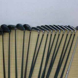 メンズ ゴルフクラブ 16本セット ウッド/5本 アイアン/10...