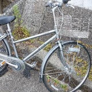 ブリジストン27インチ自転車ギヤ付き