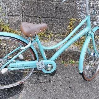 ブリジストン27インチ自転車ギヤ鍵付き