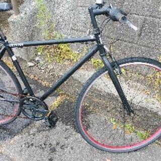 フラット自転車28インチギヤ付き