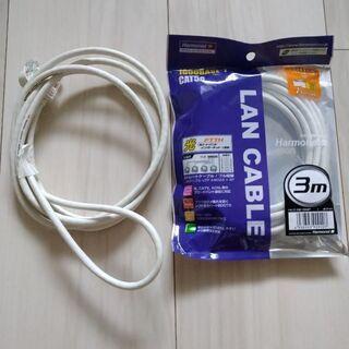 パソコン LANケーブル 3m 2m