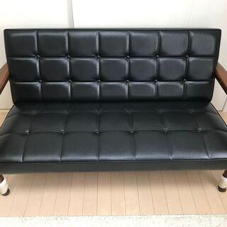カリモク60 Kチェア 2シーター(1年未満使用)良品 お譲りします - 家具