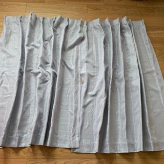 カーテン 横100×縦135(レースなし、フック付き)
