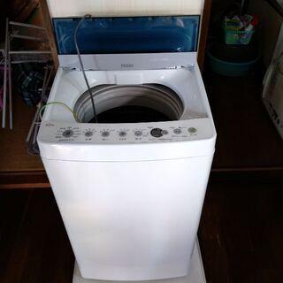 【ネット決済】ハイアール 洗濯機 4.5kg JW-C45D 美品