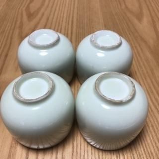 204、湯飲み茶わん(梅、松、菊、あやめ) 4個セット - 売ります・あげます