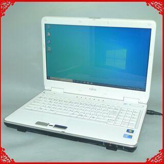 【ネット決済・配送可】新品SSD-256G ノートパソコン 中古...