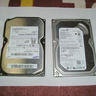 x2個セット Seagate(250GB)+SAMSUNG(16...
