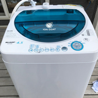 SHARP 洗濯機 ES-FG45-A 2005年製 4.5kg