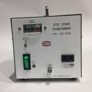 【ネット決済】J3cti0069749 変圧器 日章工業 SDX...