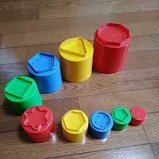 スタッキングカップ 未就園児、園児、小学校低学年向け