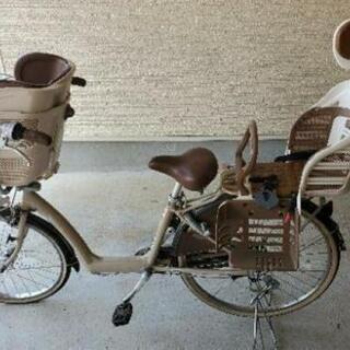 三人乗り自転車(非電動)通園などに。