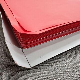 赤い紙 53センチ×40センチ 大量 引き取りで無料