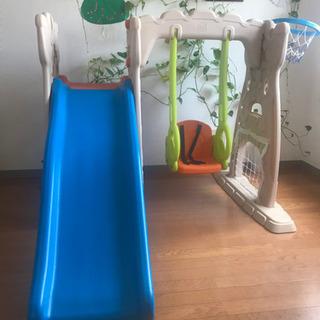 【ネット決済】トイザらス 室内用 遊具 滑り台 ブランコ スクラ...