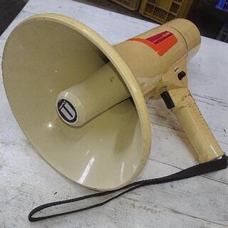 ジャンク品 拡声器 使用可だが一部難有り