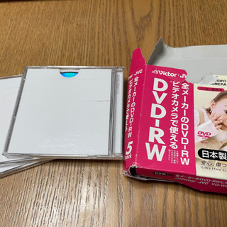 DVD-RW ビデオカメラ用