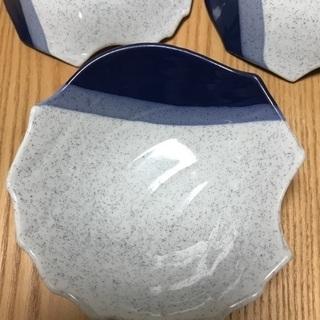 206、昭和レトロな小鉢 3個セット − 岡山県