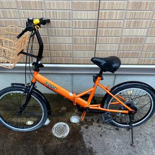 【取引中】折りたたみ自転車
