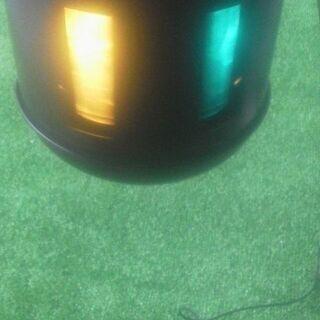 二個セット/回転灯赤・ミラクルライト回転式・回転灯・赤緑青黄・カ...
