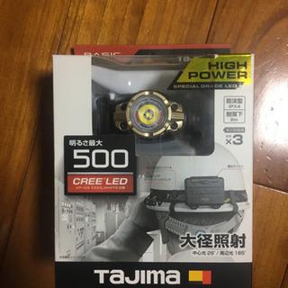 新品 TAJIMA  LED ヘッドライト