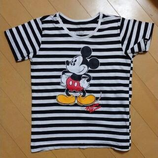 キッズ Tシャツ 「ミッキーマウス」120cm