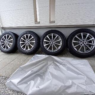 【ネット決済】スタッドレスタイヤ&ホイール4セット 225/60...