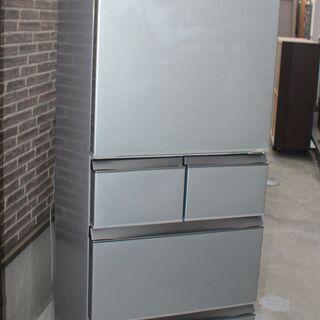 AQUA 415L 5ドア冷蔵庫 AQR-SD42F 2017年 良品