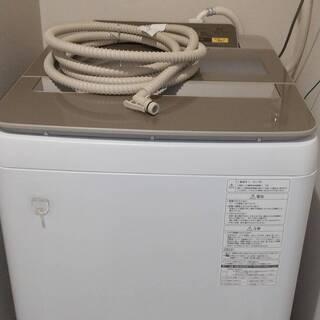 【ネット決済】パナソニック NA-FA80H3 簡易乾燥機能付洗...