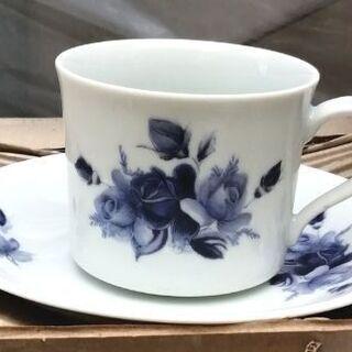 在庫品 バラの花のコーヒーセット (取りに来ていただける方)