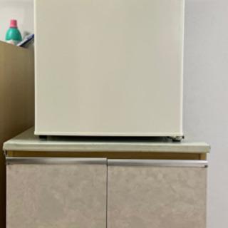 電子オーブンレンジ、冷蔵庫、レンジ台