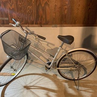 【ネット決済】自転車 カゴつき 26インチ