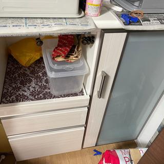 【ネット決済】食器棚 レンジボード キッチン キッチン収納 ダイ...
