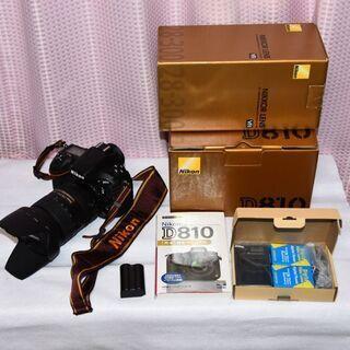 【美品】 Nikon D810 +  レンズ(AF-S 28-3...