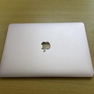 【ネット決済】MacBook A1534 ピンク core m3...