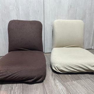 あぐら座椅子 (使用期間4ヶ月)ベージュ・ブラウン
