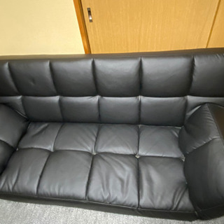 ニトリのソファーベッドです。