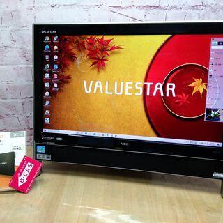 <6/24まで>【快適21.5型◆地デジ視聴OK】新品SSD 5...