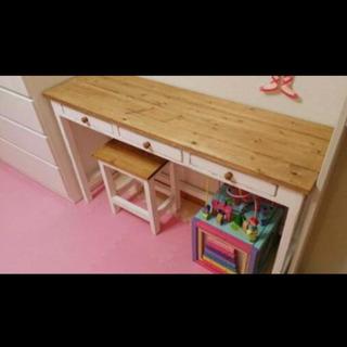 【ネット決済】テーブル机セット✨